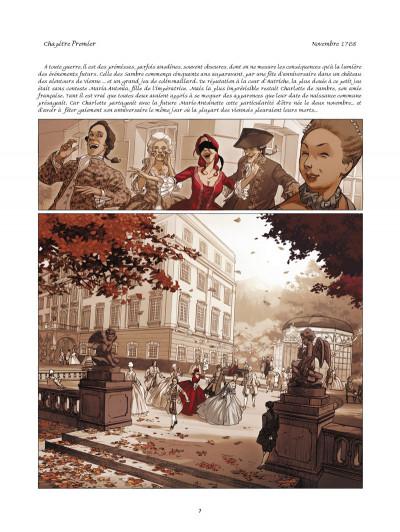 Page 1 La guerre des sambre - Charlotte et Werner tome 1