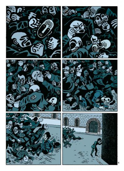 Page 1 par les chemins noirs tome 1 - les prologues