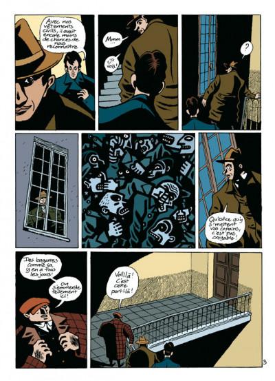 Page 3 par les chemins noirs tome 1 - les prologues