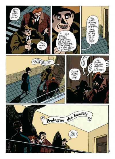 Page 4 par les chemins noirs tome 1 - les prologues