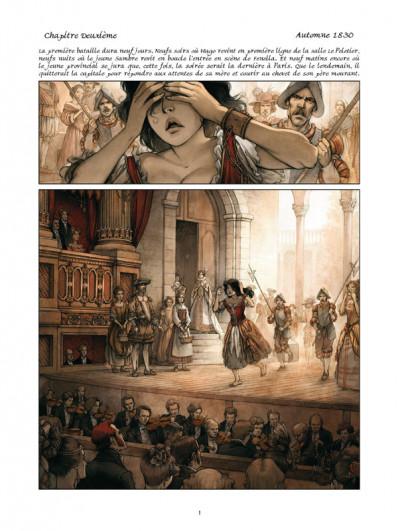 Page 1 La guerre des Sambre - Hugo et Iris tome 2