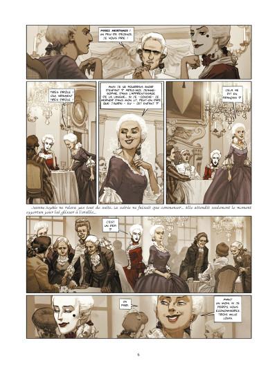 Page 4 La guerre des sambre - Werner et Charlotte tome 2