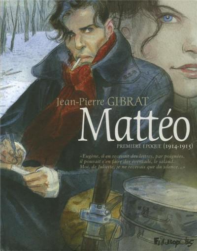 Couverture Mattéo tome 1