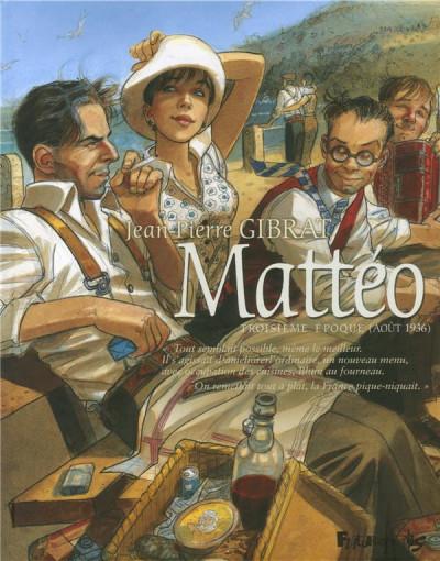 Couverture Mattéo tome 3