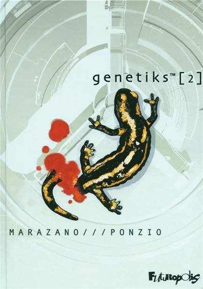 Couverture genetiks tome 2