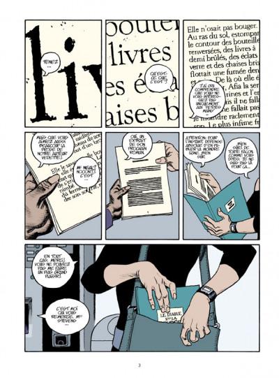 Page 1 page noire