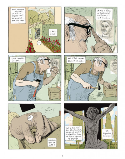 Page 1 la marie en plastique ; intégrale