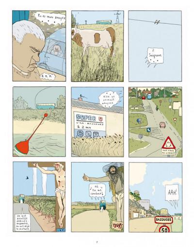 Page 5 la marie en plastique ; intégrale