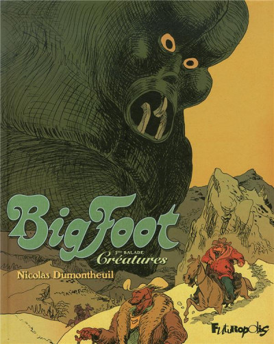 Couverture big foot tome 3
