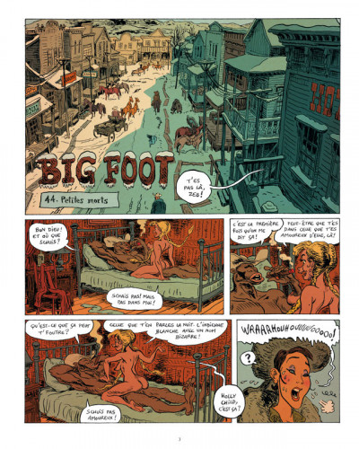 Page 1 big foot tome 3