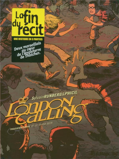 Couverture london calling tome 3