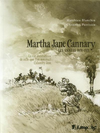 Couverture martha jane cannary tome 2 - les années 1870-1876