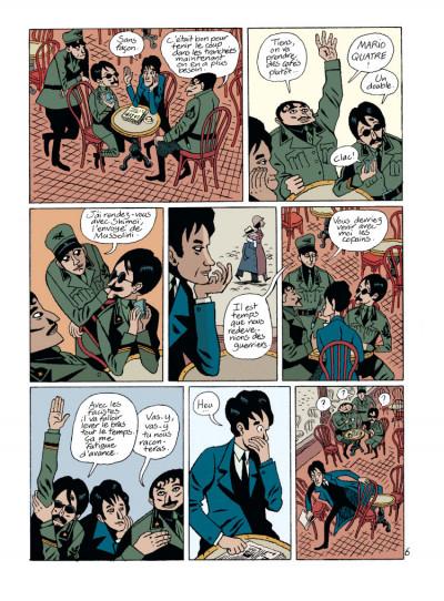 Page 1 par les chemins noirs tome 2