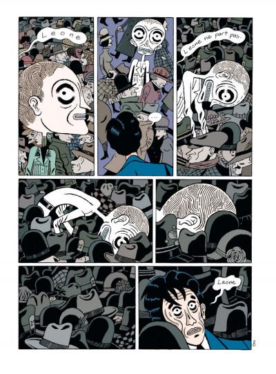Page 3 par les chemins noirs tome 2
