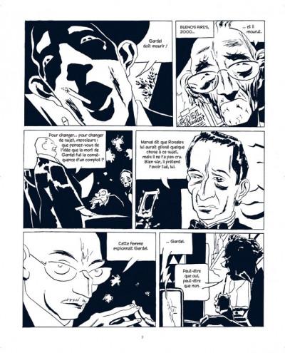 Page 1 carlos gardel tome 2 - la voix de l'argentine