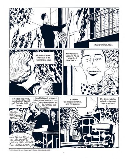 Page 3 carlos gardel tome 2 - la voix de l'argentine