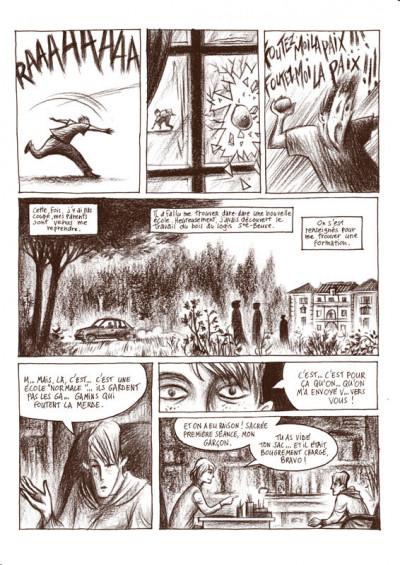 Page 2 paroles d'illétrisme ; 8 témoignages - 9 auteurs de bandes dessinées
