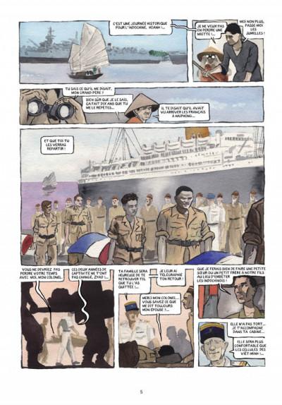 Page 1 petit polio ; le cousin Harki