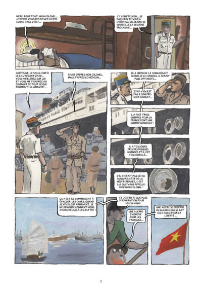 Page 3 petit polio ; le cousin Harki