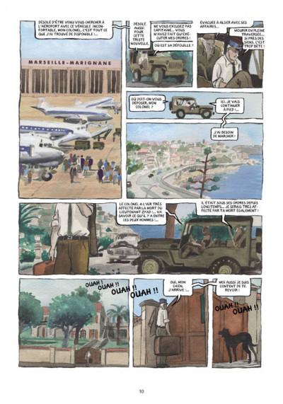 Page 5 petit polio ; le cousin Harki