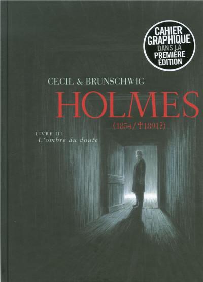 Couverture Holmes (1854-1891?) tome 3 - l'ombre du doute