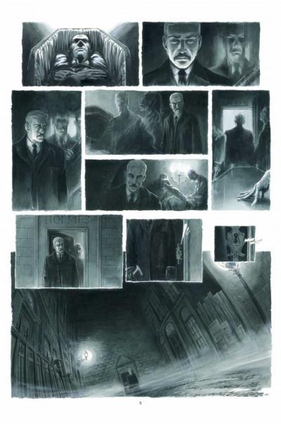 Page 1 Holmes (1854-1891?) tome 3 - l'ombre du doute