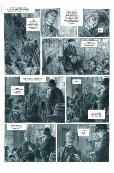 Page 0 Holmes (1854-1891?) tome 3 - l'ombre du doute