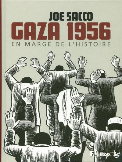 Couverture gaza 1956 ; en marge de l'histoire