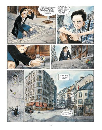 Page 2 un sac de billes tome 1