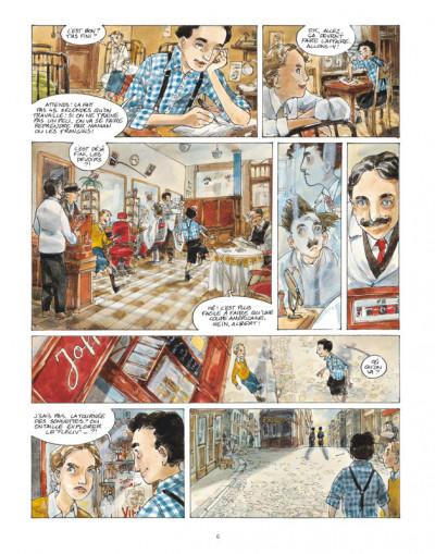 Page 4 un sac de billes tome 1
