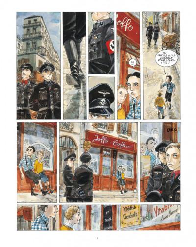Page 5 un sac de billes tome 1