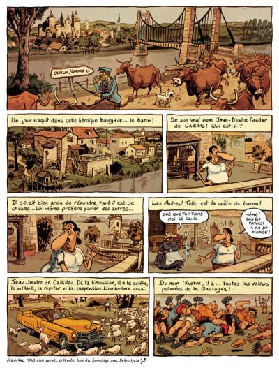 Page 1 le landais volant tome 1 - conversation avec un margouillat