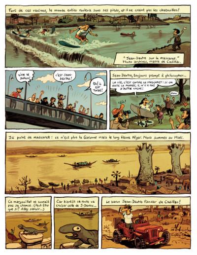 Page 2 le landais volant tome 1 - conversation avec un margouillat