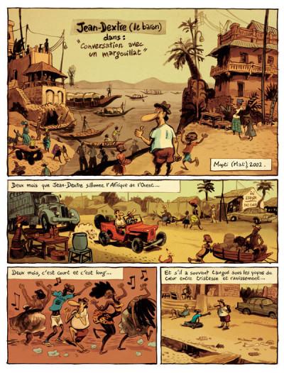 Page 3 le landais volant tome 1 - conversation avec un margouillat