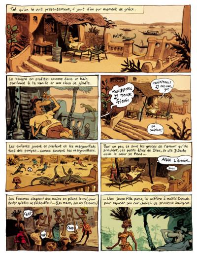 Page 4 le landais volant tome 1 - conversation avec un margouillat