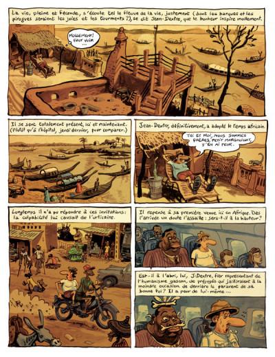 Page 5 le landais volant tome 1 - conversation avec un margouillat