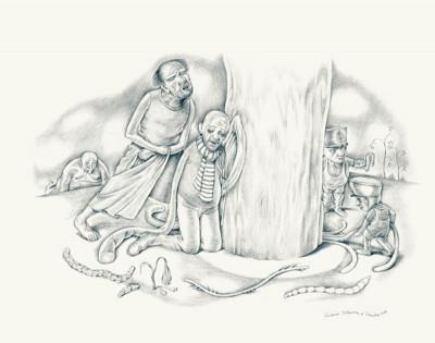 Page 5 le lac aux vélies ; un conte musical mis en images ; un cd audio