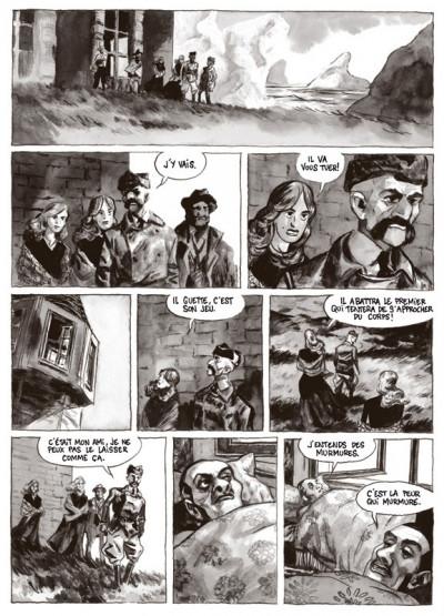 Page 3 terre de feu tome 2 - les noctambules