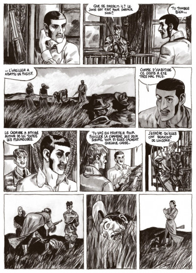 Page 5 terre de feu tome 2 - les noctambules
