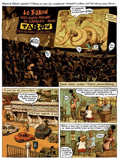 Page 1 le landais volant tome 2 - à la recherche du sexe volé