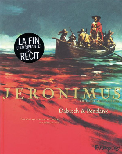 Couverture Jéronimus tome 3 - sur l'île