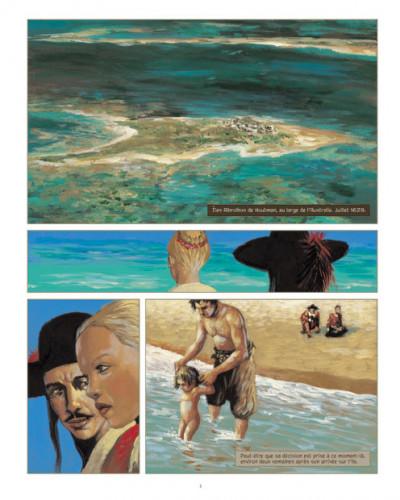 Page 1 Jéronimus tome 3 - sur l'île