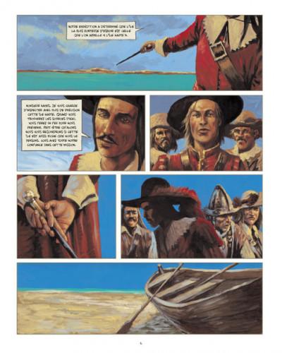 Page 4 Jéronimus tome 3 - sur l'île