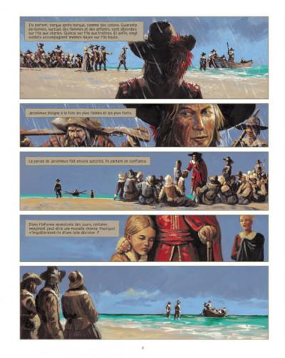 Page 5 Jéronimus tome 3 - sur l'île