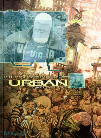 Couverture Urban tome 1