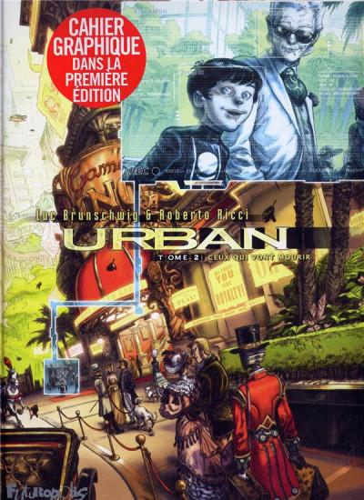 Couverture urban tome 2 - ceux qui vont mourir