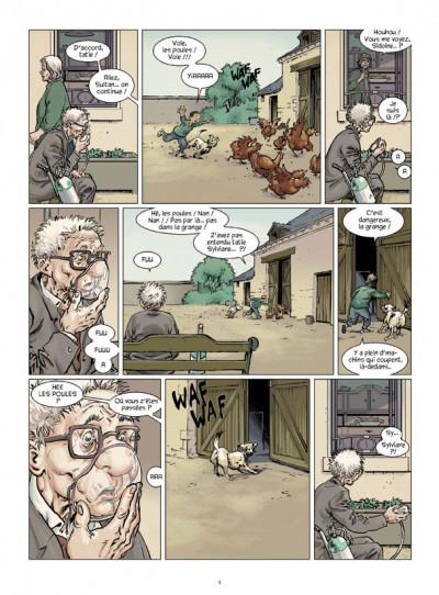 Page 2 La mémoire dans les poches tome 3