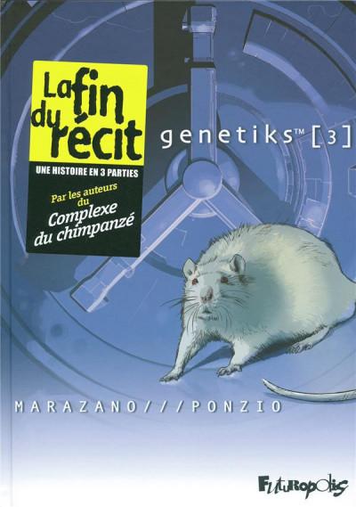 Couverture genetiks tome 3