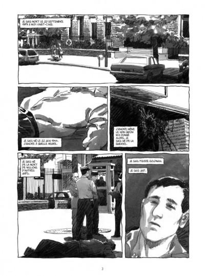 Page 1 Pierre Goldman ; la vie d'un autre