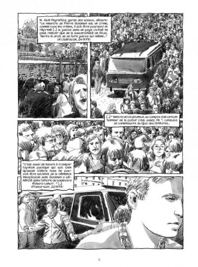 Page 3 Pierre Goldman ; la vie d'un autre